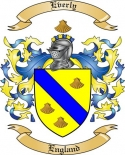 Everly Family Crest from England