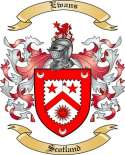 Ewans Family Crest from Scotland