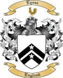 Eysse Family Coat of Arms from England