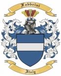 Fabbrini Family Coat of Arms from Italy