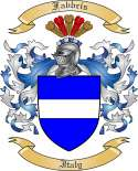 Fabbris Family Coat of Arms from Italy