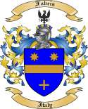 Fabris Family Crest from Italy