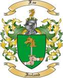 Fae Family Coat of Arms from Ireland