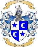 Faff Family Crest from Germany