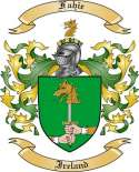 Fahie Family Crest from Ireland