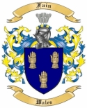 Fain Family Coat of Arms from Wales