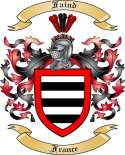 Faind Family Crest from France2
