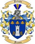 Fainds Family Crest from France