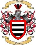 Faint Family Crest from France2