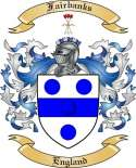 Fairbanks Family Crest from England
