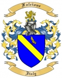 Falcione Family Coat of Arms from Italy