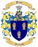 Fane Family Coat of Arms from Ireland