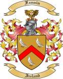 Fannin Family Crest from Ireland