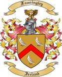 Fanningley Family Coat of Arms from Ireland