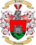 Farber Family Crest from Germany2