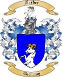 Farber Family Coat of Arms from Germany
