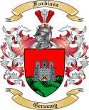 Farbiasz Family Crest from Germany