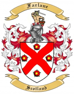 Farlane Family Coat of Arms from Scotland1