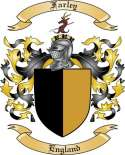 Farley Family Coat of Arms from England