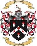 Farmere Family Crest from England