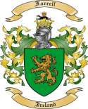 Farrell Family Crest from Ireland2