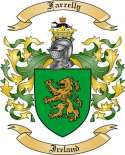 Farrelly Family Crest from Ireland2