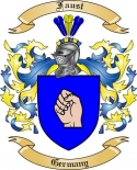 Faust Family Crest from Germany2