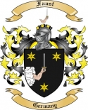 Faust Family Coat of Arms from Germany
