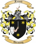 Fauste Family Coat of Arms from Germany