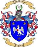 Fawlkconer Family Coat of Arms from England