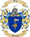 Fay Family Crest from Ireland3