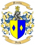 Fazzin Family Coat of Arms from Italy