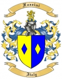 Fazzini Family Crest from Italy
