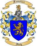 Fazzolari Family Crest from Italy