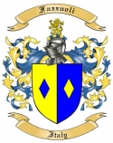 Fazzuoli Family Crest from Italy