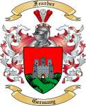 Fearber Family Crest from Germany