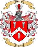 Feather Family Crest from England