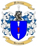 Federer Family Coat of Arms from Germany