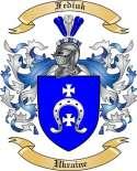 Fediuk Family Coat of Arms from Ukraine