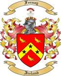 Feenay Family Crest from Ireland