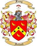 Feeny Family Crest from Ireland