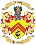 Feeter Family Coat of Arms from Scotland