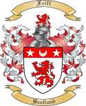 Feiff Family Coat of Arms from Scotland