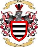 Fein Family Coat of Arms from France2
