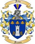 Fein Family Coat of Arms from France