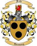 Feld Family Crest from Germany