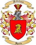 Feliciano Family Coat of Arms from Spain