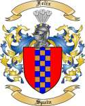 Felix Family Coat of Arms from Spain2