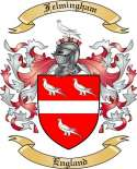 Felmingham Family Coat of Arms from England