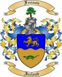 Fennon Family Crest from Ireland2